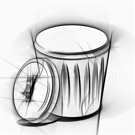 Pensil Kayu Kartun ilustrasi gratis tong sah menggambar pensil gambar