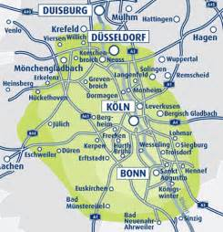 Koln Germany Map by Maps Of Cologne
