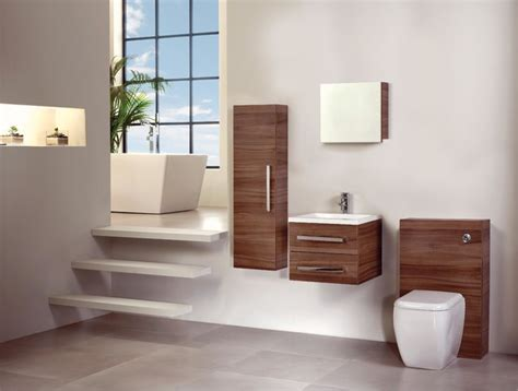 contemporary bathroom storage walnut bathroom furniture modern bathroom cabinets and