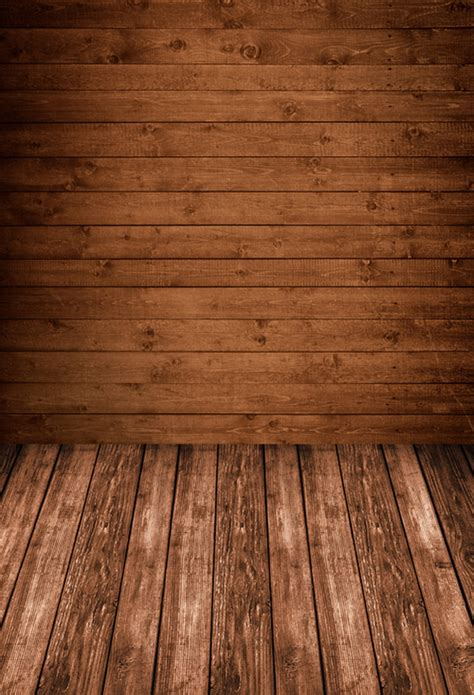 huayi brown wood wall paper with wood floor photo studio background backdrop made of studio for