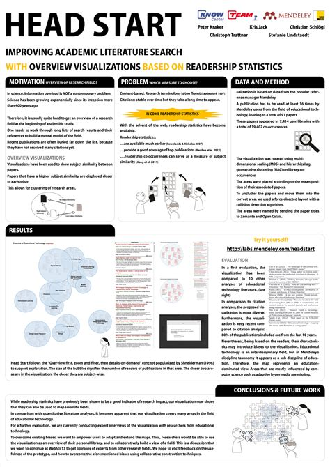 How To Make A Paper Poster - design research tools mendeley