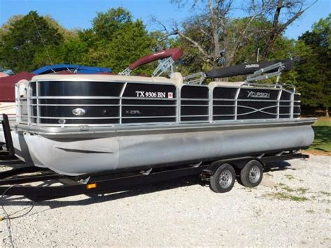 xcursion pontoon for sale used pontoon xcursion boats for sale boats