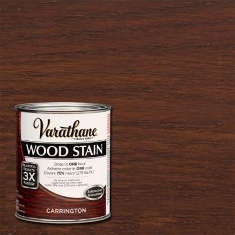 Home Depot 5 Gallon Interior Paint by Varathane 1 Qt 3x Carrington Premium Wood Stain 271146