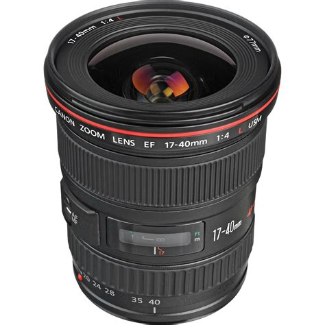 Lensa Canon 17 40 L Series canon ef 17 40mm f 4l usm lens 8806a002 b h photo