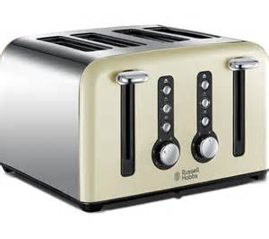 Currys Toaster Buy Russell Hobbs Windsor 22830 4 Slice Toaster Cream