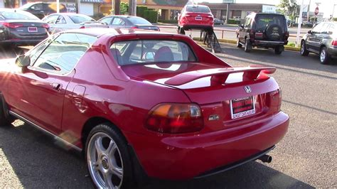 how to learn about cars 1995 honda del sol parking system 1995 honda civic del sol stock 96251 at sunset cars of auburn youtube