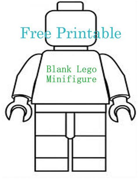 lego figure template blank lego minifigure templates