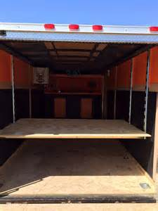 e track shelving 48 best images about diy trailer ideas on