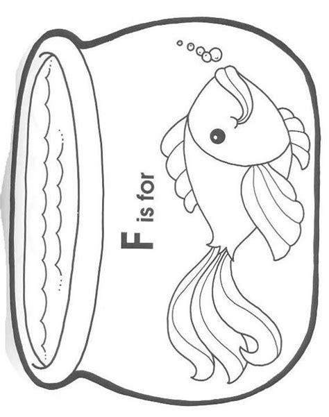 fish bowl coloring page fish bowl coloring page preschool ideas