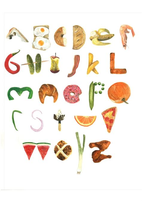 up letter with food 1000 ideas about food alphabet on food