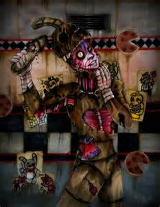 Five nights at freddy s 3 by strikinghyena on deviantart