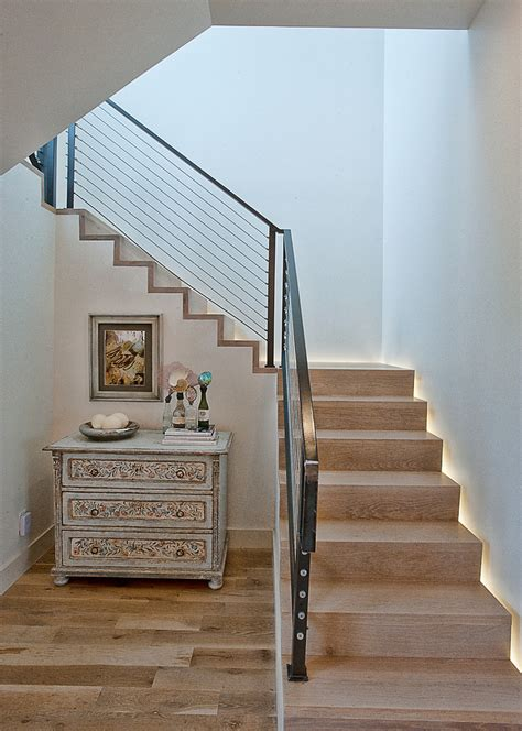 Antique Stairs Design Outdoor Stair Railing Ideas Staircase Transitional With Antique Dresser Cable Railing
