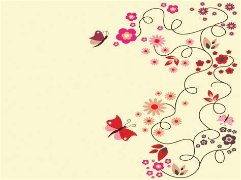 butterfly flowers aesthetic powerpoint templates flowers and butterflies powerpoint templates flowers