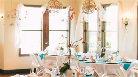 wedding table and chair rentals wedding reception at westridge clubhouse a v rentals