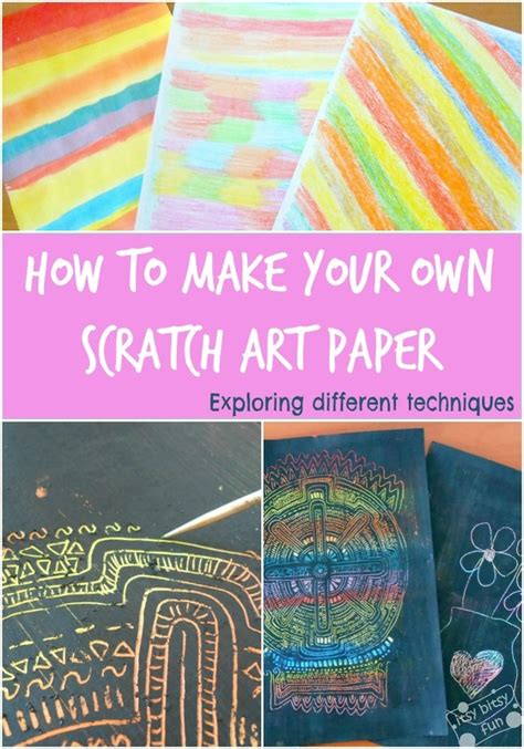 How To Make Your Own Paper - how to make your own scratch paper lesson plans
