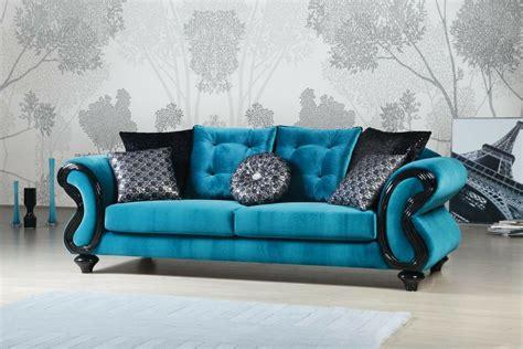 blue fabric sofa blue fabric living room chair home design