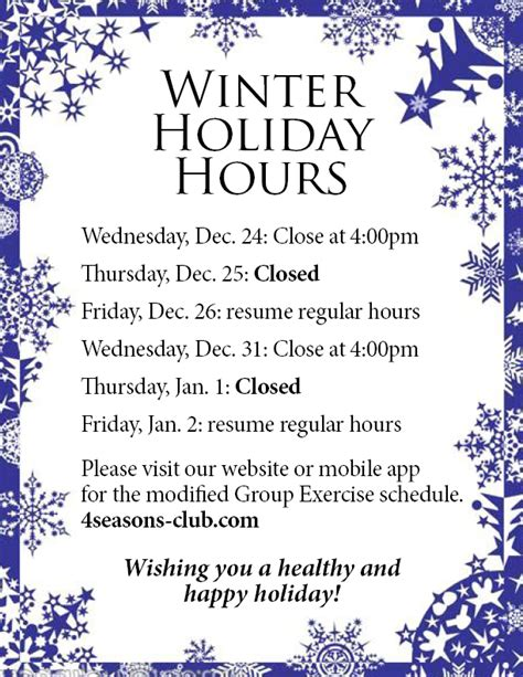 printable christmas hours sign holiday hours sign images