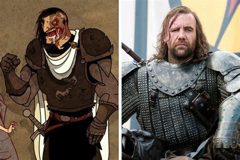 libro the hound of death personajes de juego de tronos en el libro vs la serie