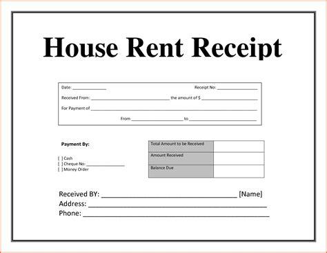 outstanding house rent slip image sle vesnak