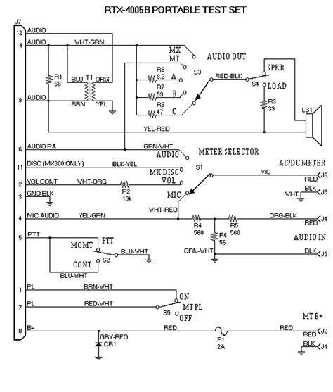 selector switch wiring diagram