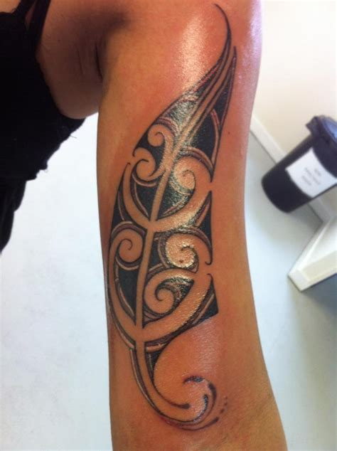 ta tattoo ta moko silver fern tattoos by spacifik ink