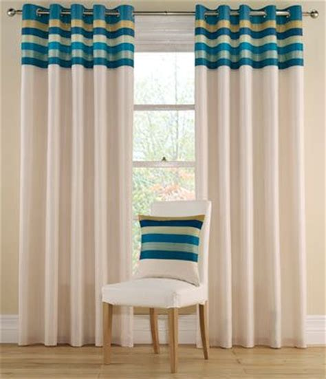 White And Teal Curtains Best 25 Blue Striped Curtains Ideas On