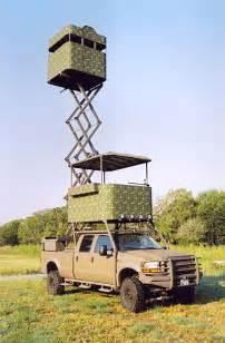 Custom Truck Accessories Deer 13 High Tech And Deer Stands