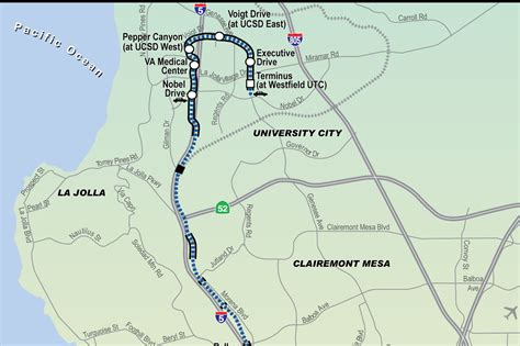 ucsd cus map what will and what should happen for rail in san diego railpac