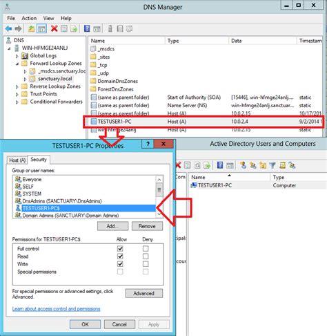 Dns Record Lookup Dns Records Not Updating Active Directory Faq