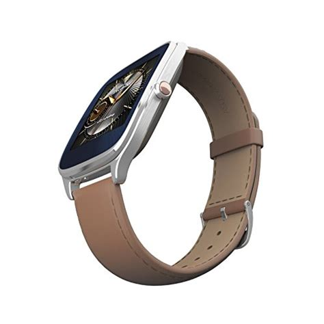 Asus Zenwatch 2 Camel Leather 49mm Wi501q Silver T1310 asus zenwatch 2 silver with camel leather 41mm smart with hypercharge battery 1 63