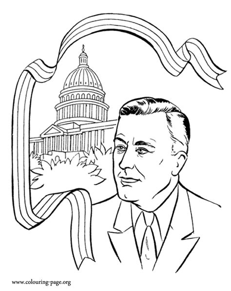 presidents day coloring page coloring home