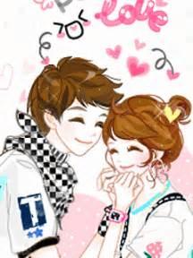 Wallpaper Animasi Love Couple | bacotan si dilacious cute animated couple cartoon