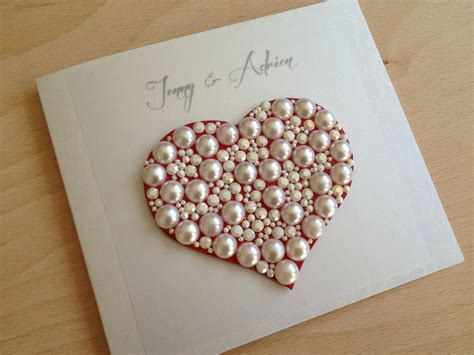 Handmade Greeting Cards For Wedding - pretty handmade wedding greeting cards scrapbook cards