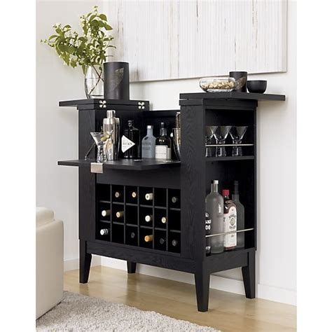 crate and barrel wine cabinet spirits cabinet crate and barrel built in