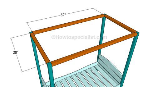 Toddler Bed Plans Howtospecialist How To Build Step Toddler Bed Frame Plans