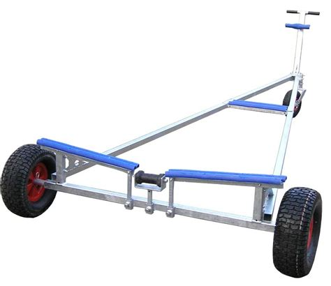 inflatable boat launch trolley heavy duty launching trolley upto 18ft 6in launching