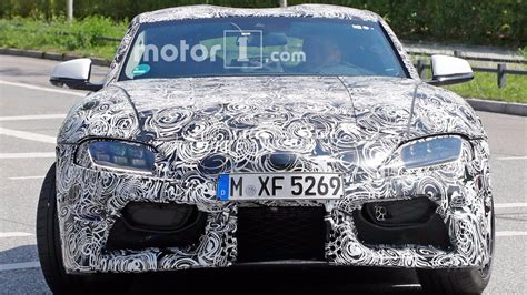 Lu Led Motor Supra 2018 toyota supra spied testing with led headlights