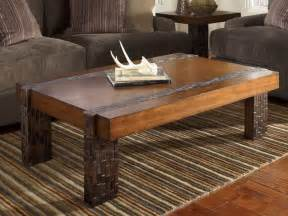 Cocktail coffee table along with sofa sofa chair and end table