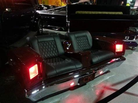 counts kustoms coffin couch custom roadrunner couch picture of counts kustoms las