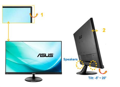 Led For Asus 140 Slim Wide asus vc279h slim bezel black 27 quot 5ms gtg ips widescreen led backlight lcd monitors hdmi