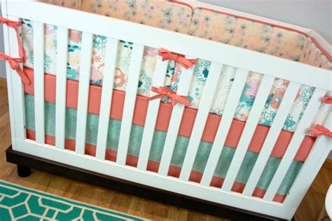 Underwater Crib Bedding Crib Bedding Baby Bedding Coral Mint Crib Set Underwater Pin