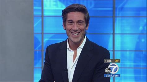 abc 7 news los angeles world news world news tonight anchor david muir visits kabc tv
