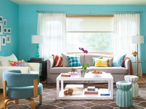 blue color schemes for living room salas turquesas salas con estilo