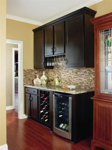 aristokraft benton home bar cabinetry dining room