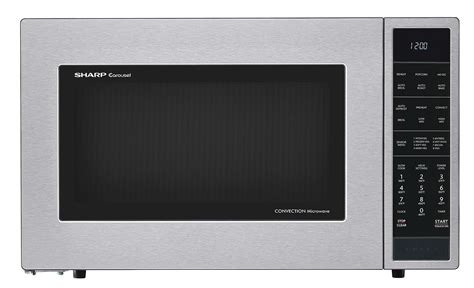 Microwave Oven Merk Sharp smc1585bs 1 5 cu ft stainless steel convection microwave