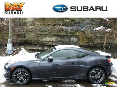 grey subaru brz 2013 dark grey metallic subaru brz limited 78076235 photo