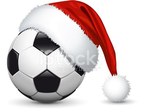 Traditional Italian Kitchen Design santa hat on soccer ball stock vector freeimages com