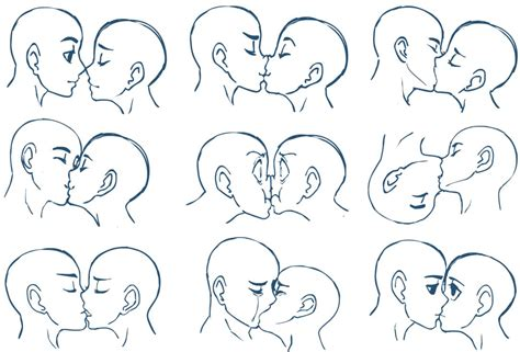 how to kiss tutorial with pictures anime kisses by sonicrocksmysocks