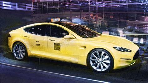 Tesla Taxi Erstes Tesla Taxi F 252 R M 252 Nchen