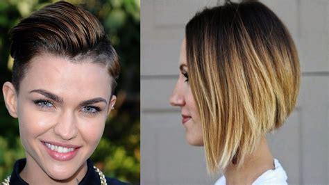 short cut hairstyles youtube short haircut styles for beautiful women short hair